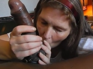 transsexual cum facial swallow
