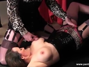 free mature cum on tits movies