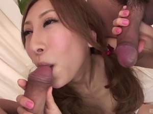 creampie eating mmf porn