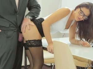 asian secretary porn video