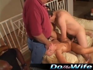 house wife doing young guy
