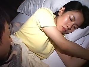 hot young girls sleeping
