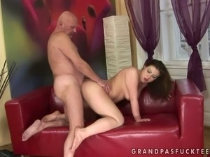 old guy young gal sex