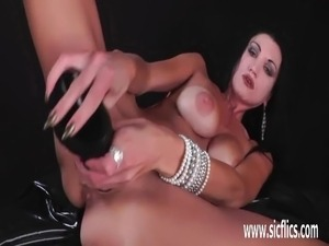 huge dildo tits video