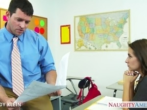 teacher handjob porn movies