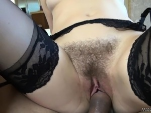 stocking and pussy fetish