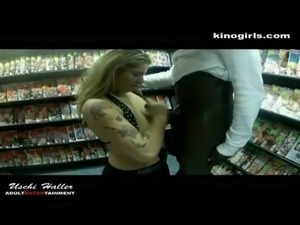 adult amateur shopping video