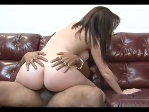 mature secretary spread black