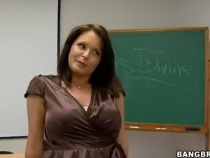 school girl and teacher videos