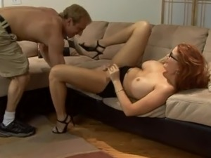 saggy stepmom tits video