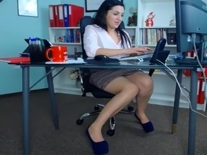 forced secretary sex video