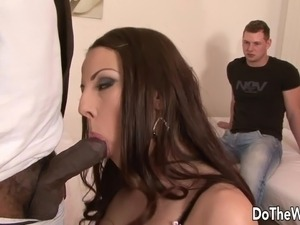 interracial anal audrey hollander