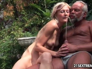 young wife and older man sex