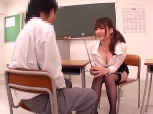 mature movies teacher stockings