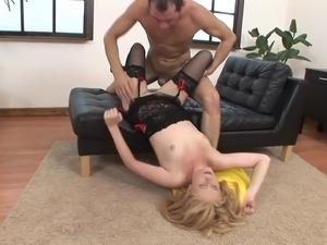 Girl swallow cum
