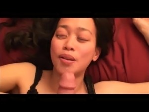 amateur girlfriend facial