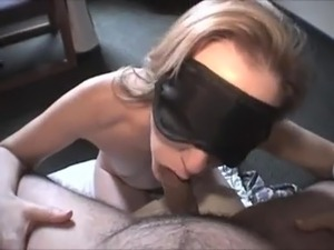 blindfolded guy fuck girl on top