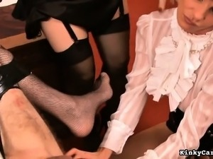 asian ladyboys in sexy lingerie