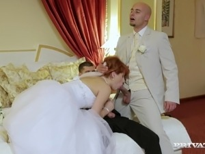 watching bride fuck big black cock