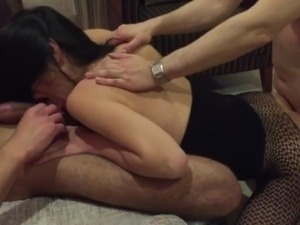 Husband Films Slut Wife Fucking Two Strangers (Cuckold)