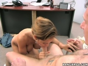 young girls making out in office