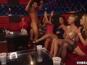 party girls naked