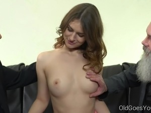 little tits old young