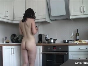 lesbian ass kitchen insertions