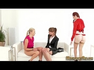 young girls pissing tube