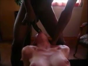 mature white couple and black lovers