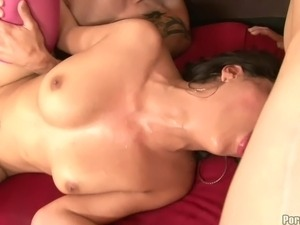 strap on anal mmf