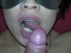 wife surprise blowjob girlfriend