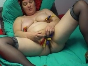 big saggy old tits video