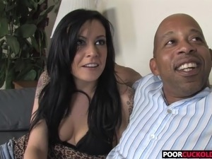 free cuckold interracial video
