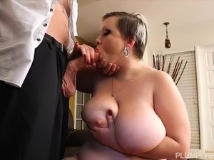 big tits and oil video