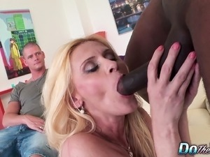 wifes first interracial sex
