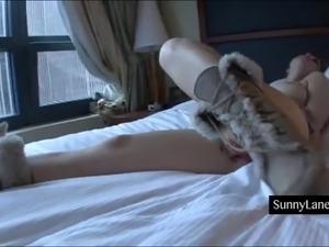 Double penetration hanging