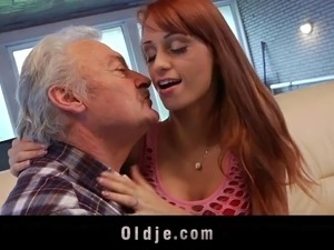 Old man group sex