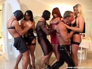 Horny porn couples fuck anal doggystyle in a nasty and naughty group orgy