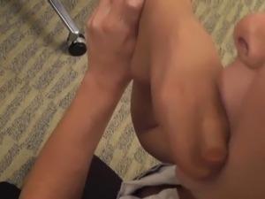 mature movies handjob foot