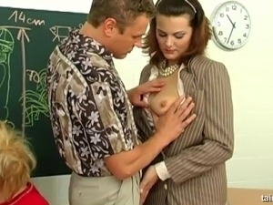 Sexy teacher big tits