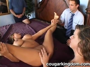 brunette wife caught cheating on video