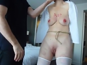 slapping my girlfriends ass while fucking