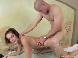 interracial sex massage videos