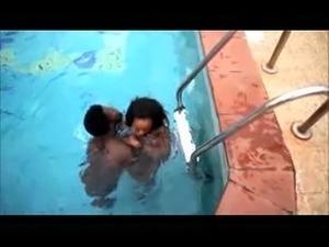 young pool fuck