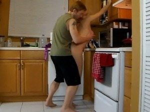 xxx kitchen fuck