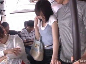 asian public sex in public bus