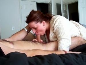 girlfriend fucks boyfriend in the ass