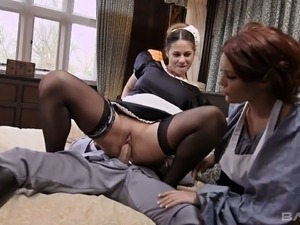 mature maid fuck young video