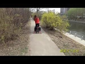 asian femdom handjob video